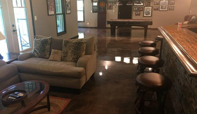 Palm Beach Custom Concrete Contractors-We offer custom concrete solutions including Polished concrete, Stained concrete, Epoxy Floor, Sealed concrete, Stamped concrete, Concrete overlay, Concrete countertops, Concrete summer kitchens, Driveway repairs, Concrete pool water falls, and more
